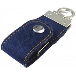 Pen Drive Tecido Jeans 8Gb