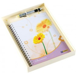 Kit Caderno Caneta E Embalagem