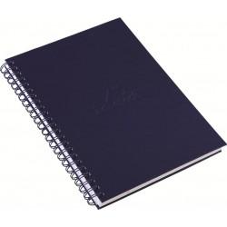 Caderno A4 Aço Escovado
