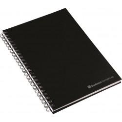 Caderno Aço Escovado
