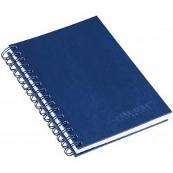 Caderno A5 Aço Escovado