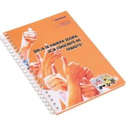 Caderno A4 Laminação Fosca