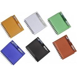 Caderno Para Anotações Com Porta-Caneta