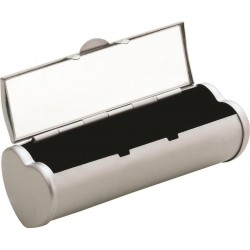 Porta Batom Metálico Com Espelho