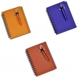 Caderninho Com Mini Caneta