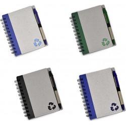 Caderninho Ecológico Com Caneta
