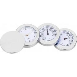 Relógio De Mesa Metálico