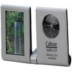 Porta Retrato C/ Relógio