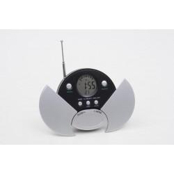 Relógio De Mesa Digital E Rádio