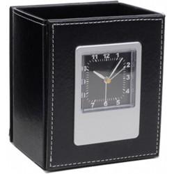 Porta Caneta C/ Relógio