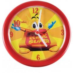 Relógio De Parede Plásticos Redondo