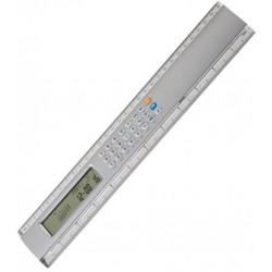Calculadora C/ Régua Plástica 30Cm