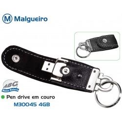 Pen Drive Em Couro 8Gb