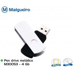 Pen Drive Metálico 4Gb
