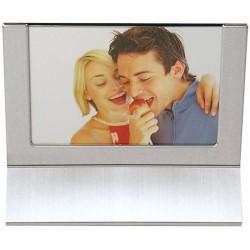 Porta Retrato Aluminio Fosco 10 X 15
