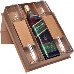 Kit Whisky, Taças E Embalagem