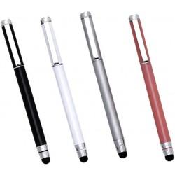Mini Caneta Metálica 2X1 Para Tablet